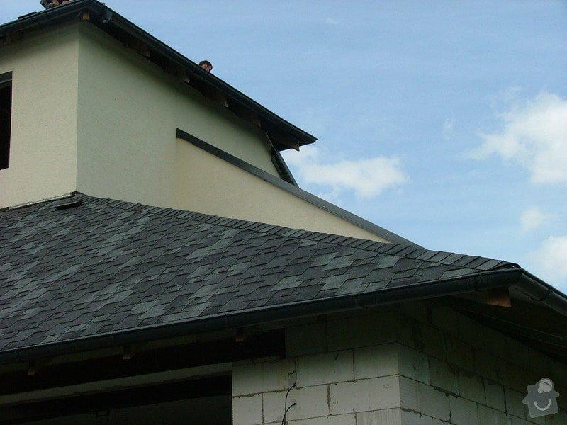 Oprava a dokončení střechy - pokrytí + klempířina: DSCF7063