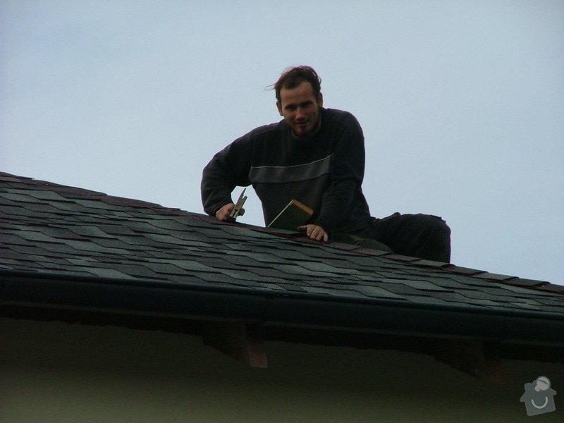 Oprava a dokončení střechy - pokrytí + klempířina: DSCF7070