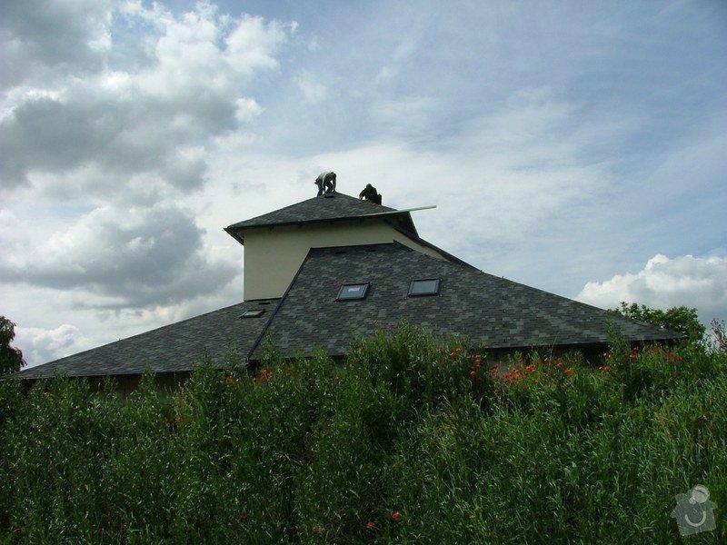 Oprava a dokončení střechy - pokrytí + klempířina: DSCF7077