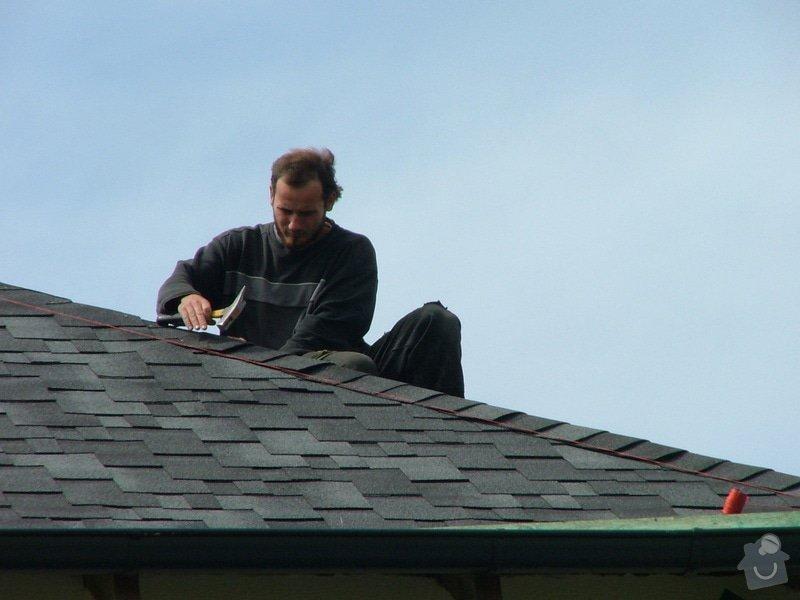 Oprava a dokončení střechy - pokrytí + klempířina: DSCF7081