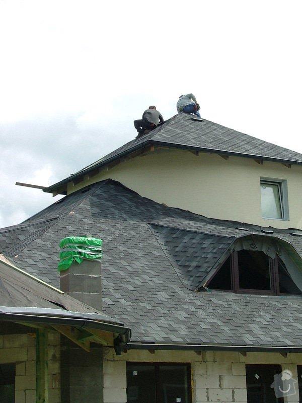 Oprava a dokončení střechy - pokrytí + klempířina: DSCF7085