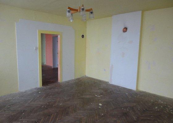 Repase parket - 2 pokoje 50m2