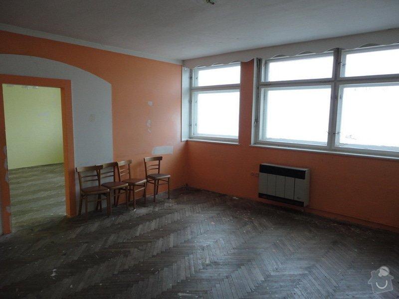 Repase parket - 2 pokoje 50m2: mistnost_1_pred
