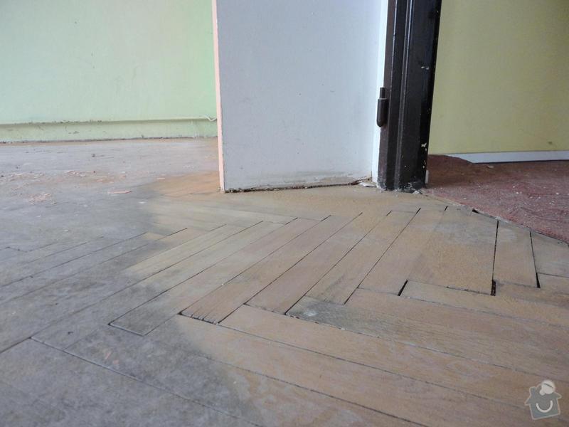 Repase parket - 2 pokoje 50m2: mistnost_1_detail_pred