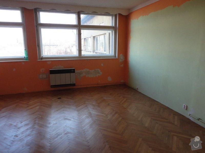 Repase parket - 2 pokoje 50m2: mistnost_1_prvni_lak