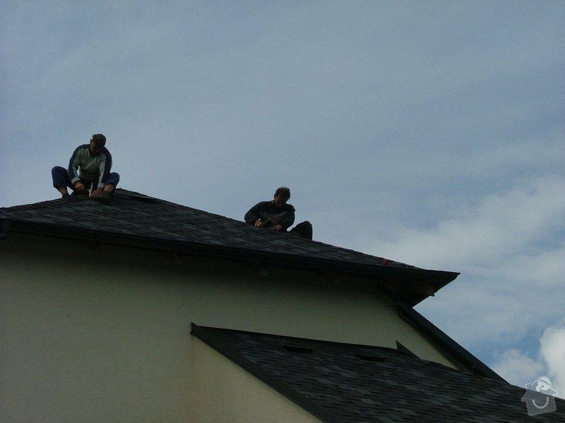 Oprava a dokončení střechy - pokrytí + klempířina: DSCF7068