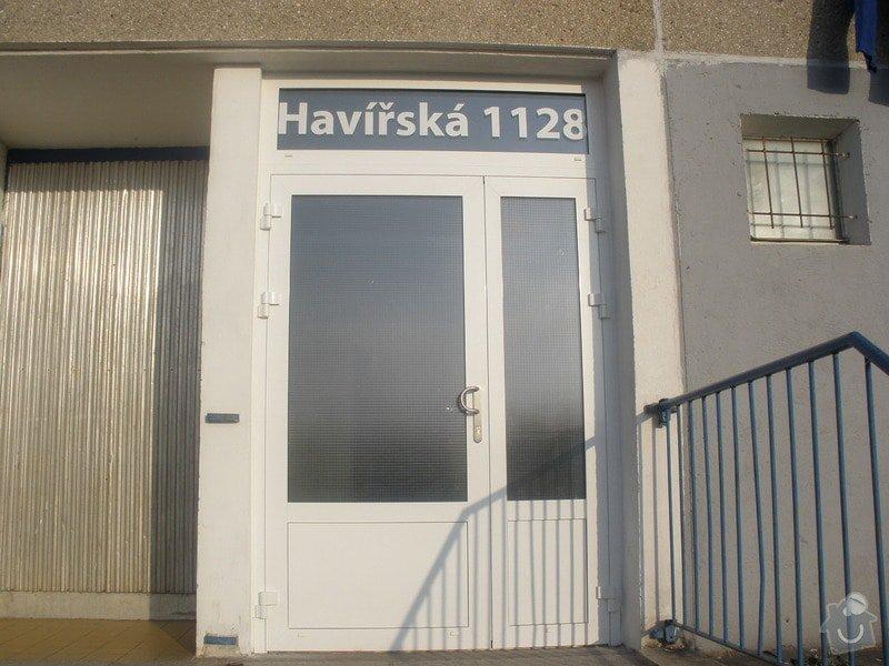 Výměna AL vstupních dveří: P1290083