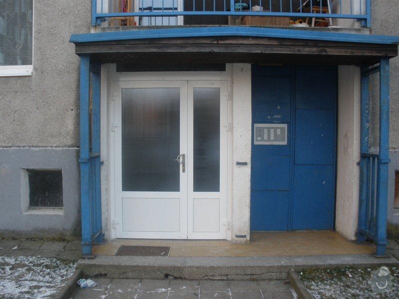 Výměna AL vstupních dveří: P1290081