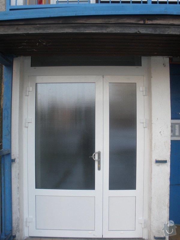 Výměna AL vstupních dveří: P1290082