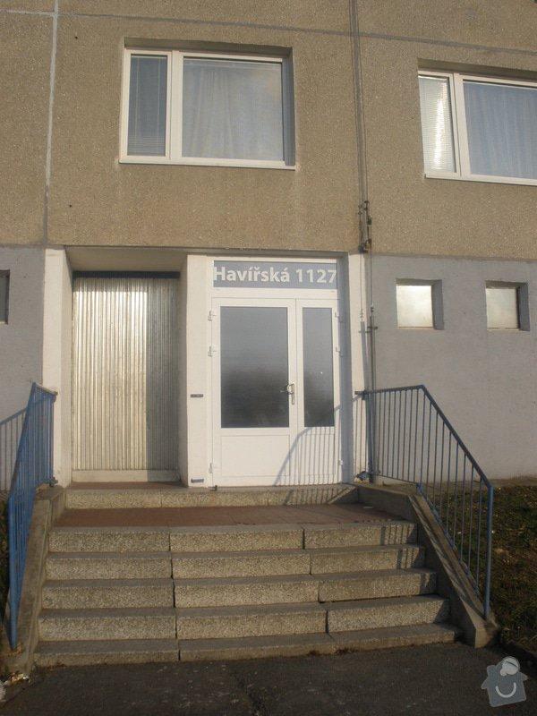 Výměna AL vstupních dveří: P1290085