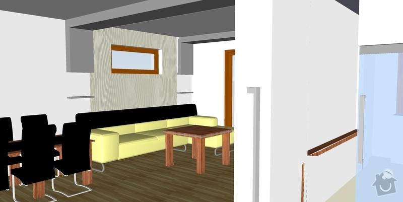 Montáž sádrokartonové přestěny a podhledu vč. osvětlení: 05