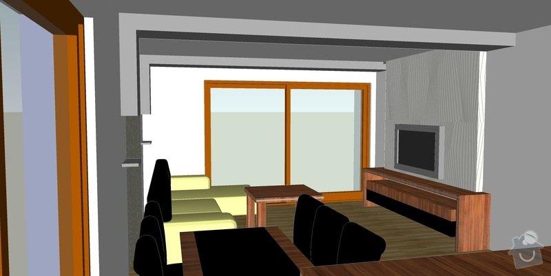Montáž sádrokartonové přestěny a podhledu vč. osvětlení: 04
