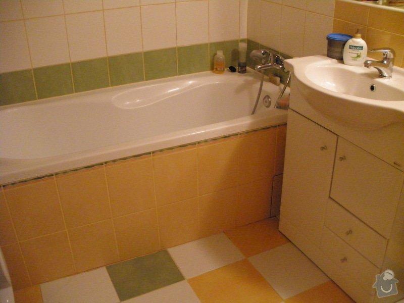 Rekonstrukce koupelny: P3111018