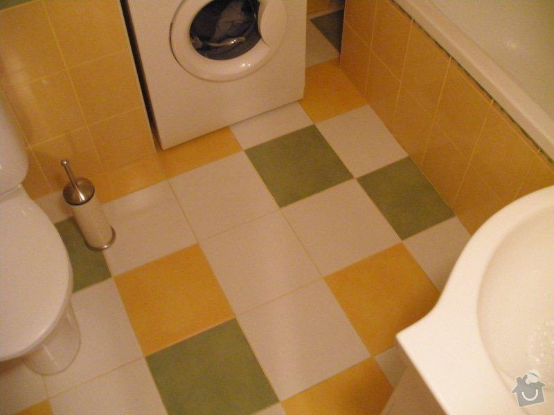 Rekonstrukce koupelny: P3111021