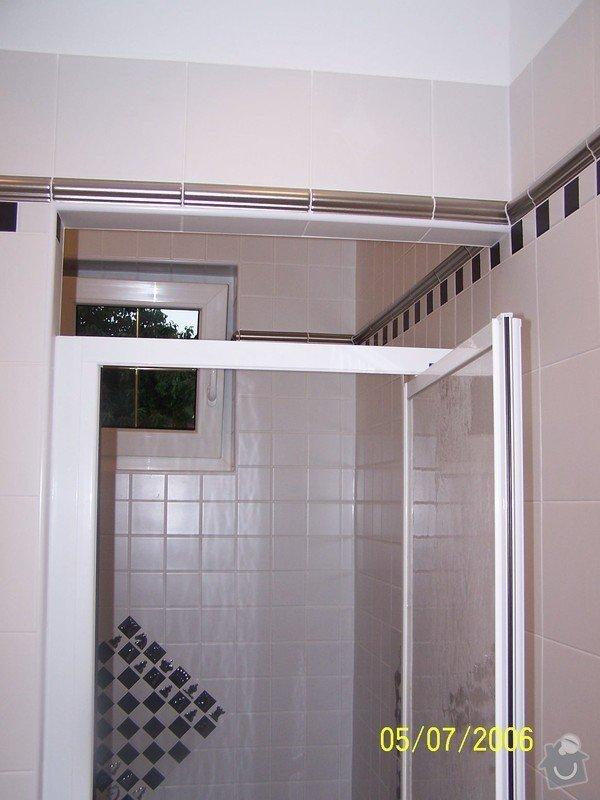 Renovace  koupelny v RD: 100_1052