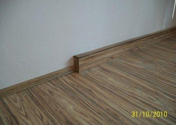 Instalace osb desek,položení plovoucí podlahy