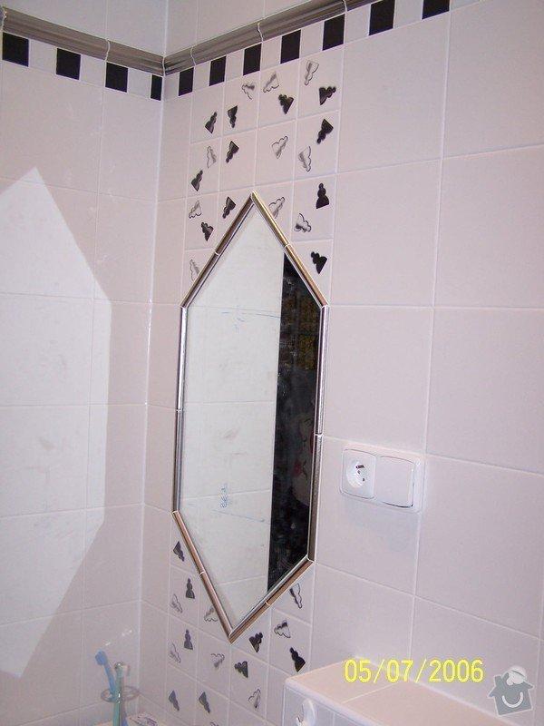 Renovace  koupelny v RD: 100_1053
