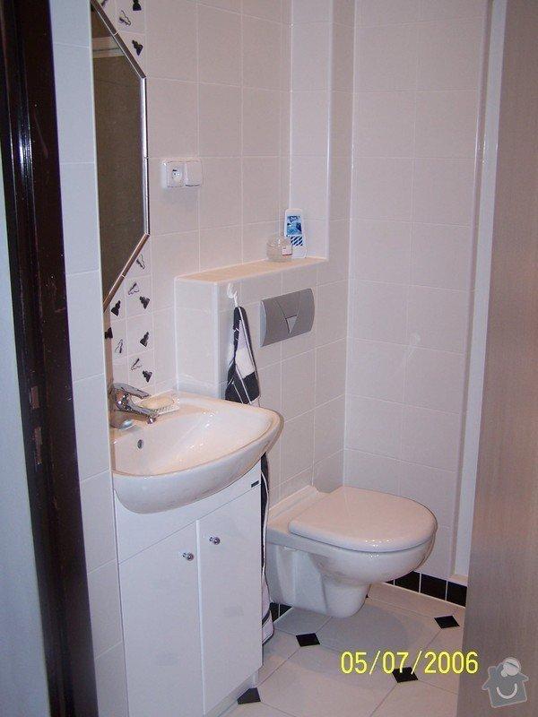 Renovace  koupelny v RD: 100_1056