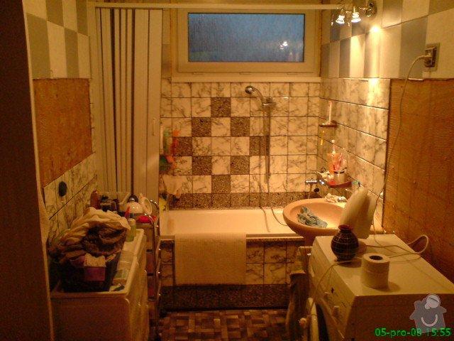 Rekonstrukce koupelny: DSC00660