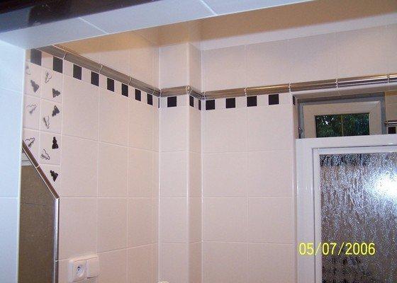 Renovace  koupelny v RD