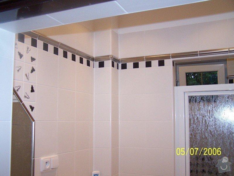 Renovace  koupelny v RD: 100_1057