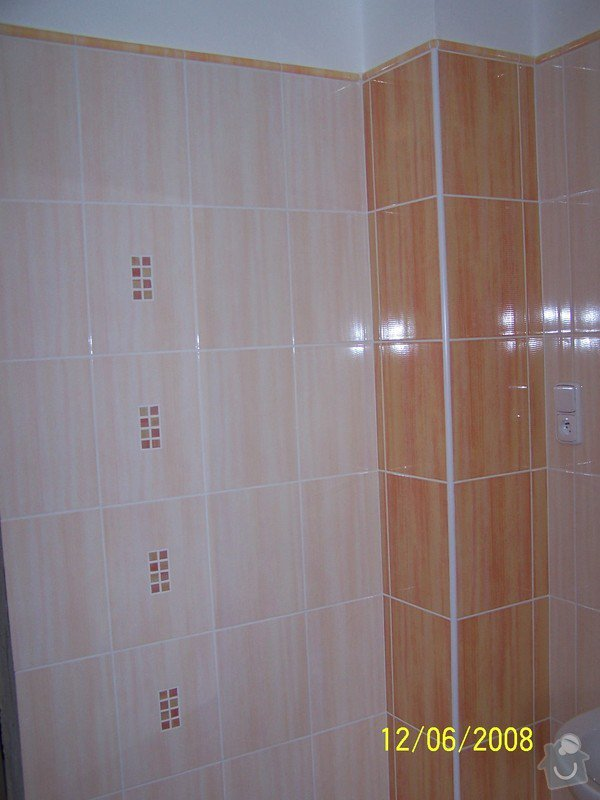 Rekonstrukce koupelny, wc atd.: 100_2988