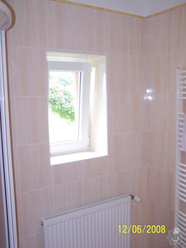 Rekonstrukce koupelny, wc atd.: 100_2992