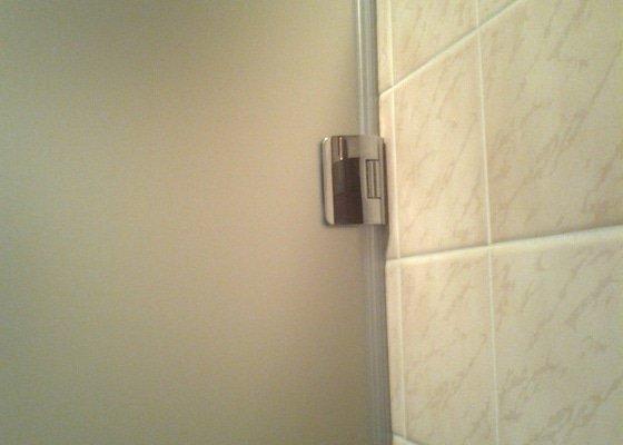 Montáž sprchových dveří