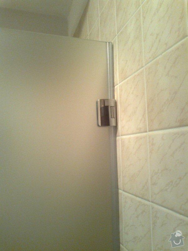 Montáž sprchových dveří: Fotografie0127