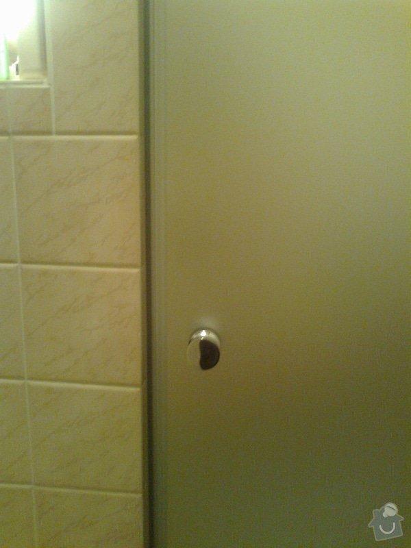Montáž sprchových dveří: Fotografie0128