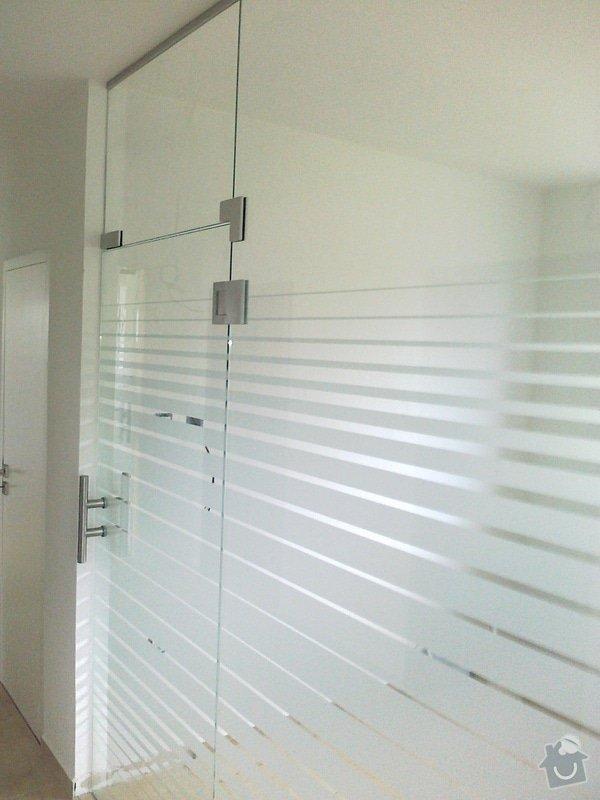 Montáž skleněné stěny a dveří: 07102010117