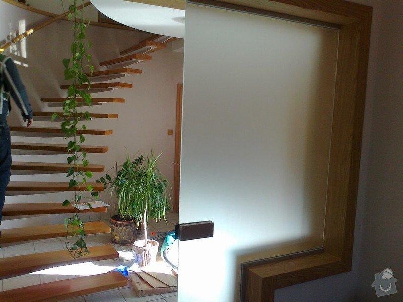 Montáž skleněné stěny: Fotografie0024