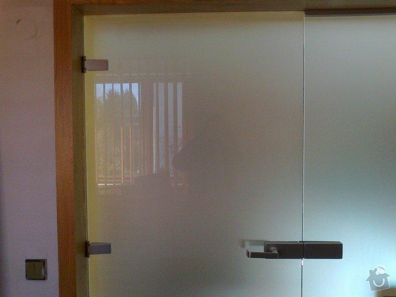 Montáž skleněné stěny: Fotografie0025