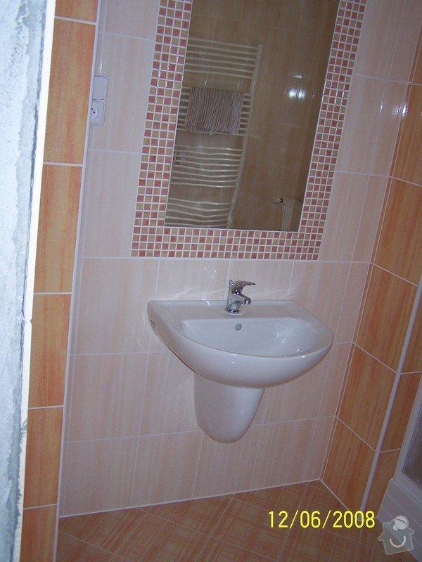 Rekonstrukce koupelny, wc atd.: 100_2997