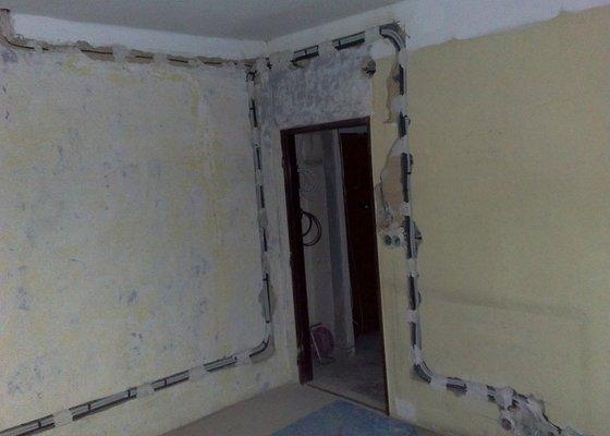 Nové elektro rozvody v bytě 2+1
