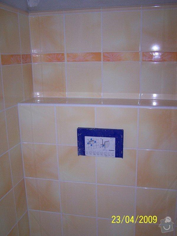Rekonstrukce koupelny, wc atd.: 100_3230
