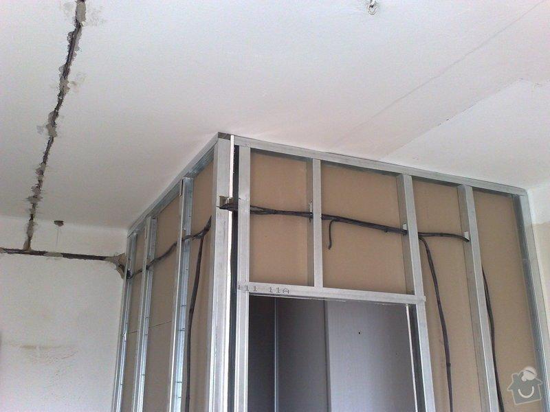 Nové elektro rozvody v bytě 2+1: 002