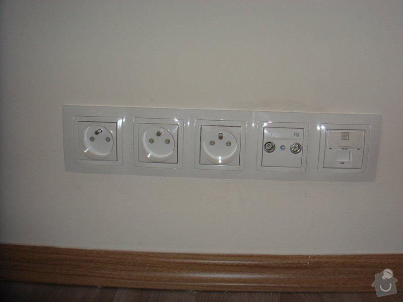 Nové elektro rozvody v bytě 2+1: 005_2_