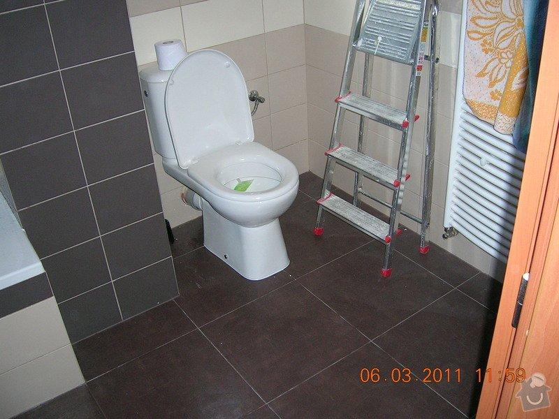 Montáž obkladu a dlažby,koupelna,WC,kuchyń a chodba: DSCN3919