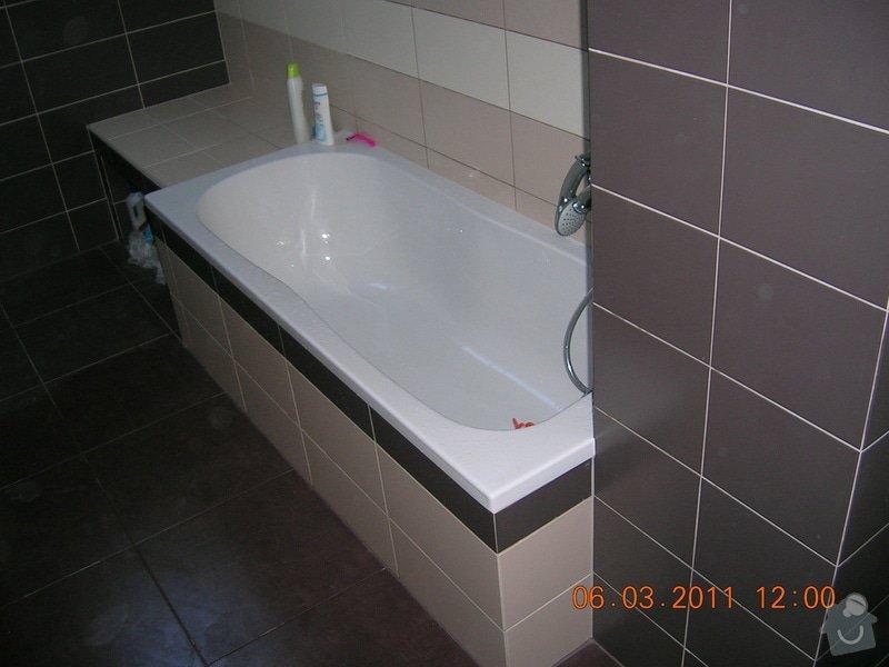 Montáž obkladu a dlažby,koupelna,WC,kuchyń a chodba: DSCN3920