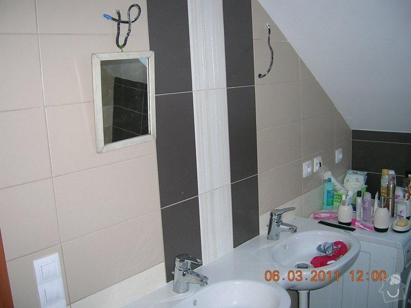 Montáž obkladu a dlažby,koupelna,WC,kuchyń a chodba: DSCN3921