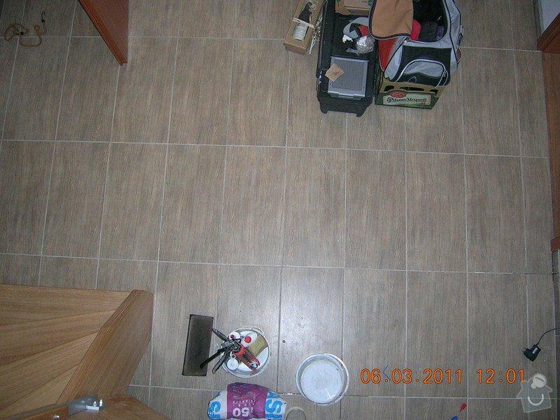 Montáž obkladu a dlažby,koupelna,WC,kuchyń a chodba: DSCN3922
