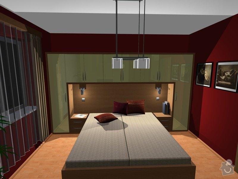 Návrh a realizace interiéru ložnice: 7