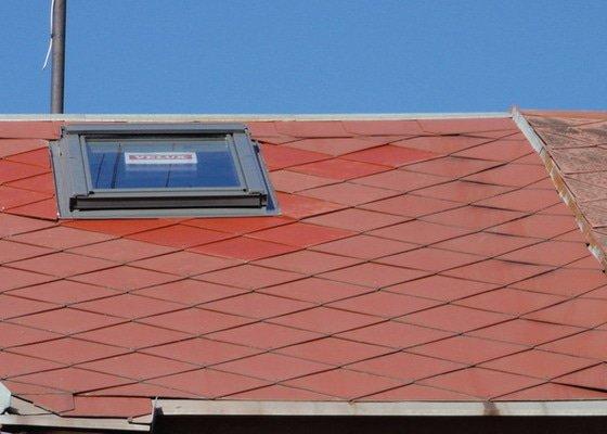 Osazení střešního okna VELUX
