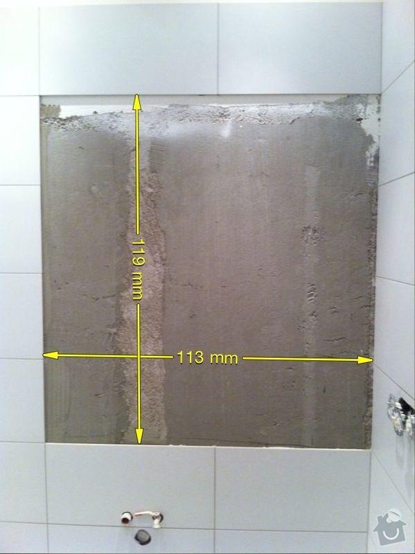 Dvě zrcadla (koupelna, wc): koupelna