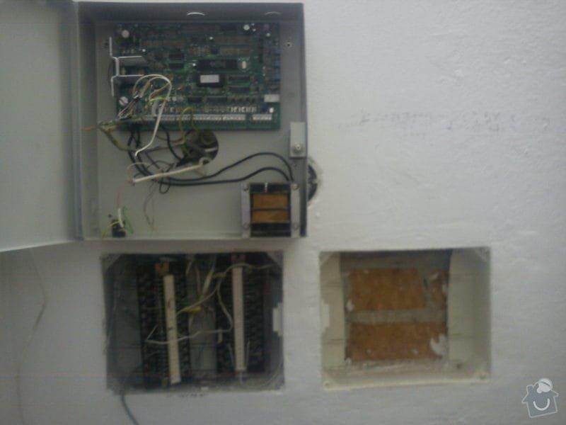 Montáž EZS: DSC00090