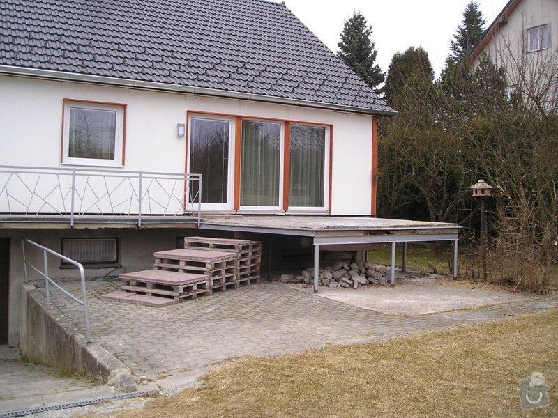 Rekonstrukce terasy : P1010075