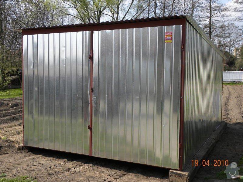 Plechová montovaná garáž: DSCN0291