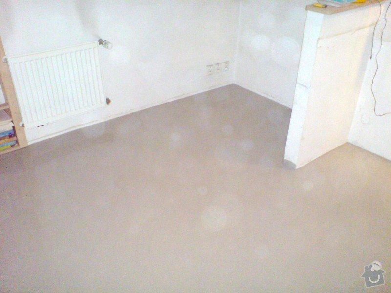 Pokládka laminátové podlahy: DSC01713