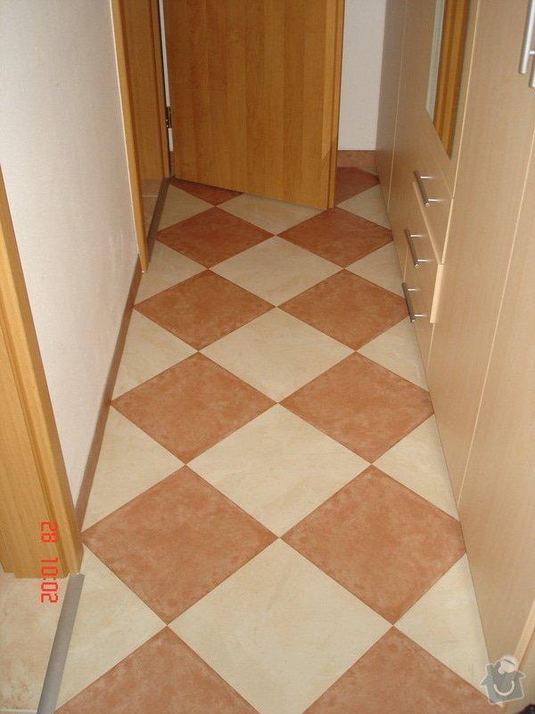 Broušení a stěrkování podkladu,pokládka parket a vinylové podlahy: DSC03066